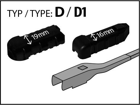 Adaptor D+D1