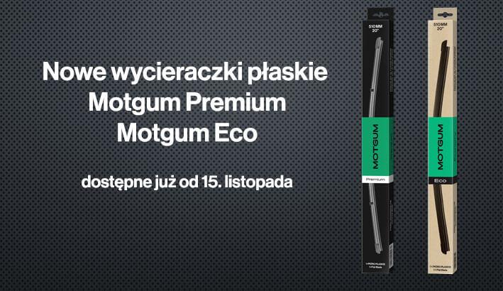 Wycieraczki płaskie Motgum Premium iEco